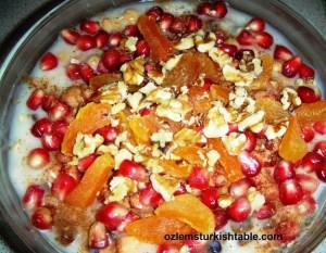 Ashura dessert