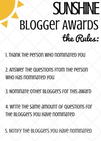 the-rules-of-the-sunshine-blogger-award 2