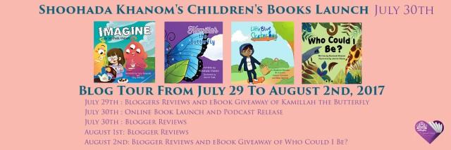 4 Books launch 7 17 17