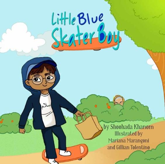 Little Blue Skater Boy Cover
