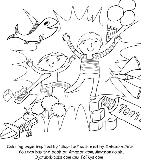 Zaheera coloring6