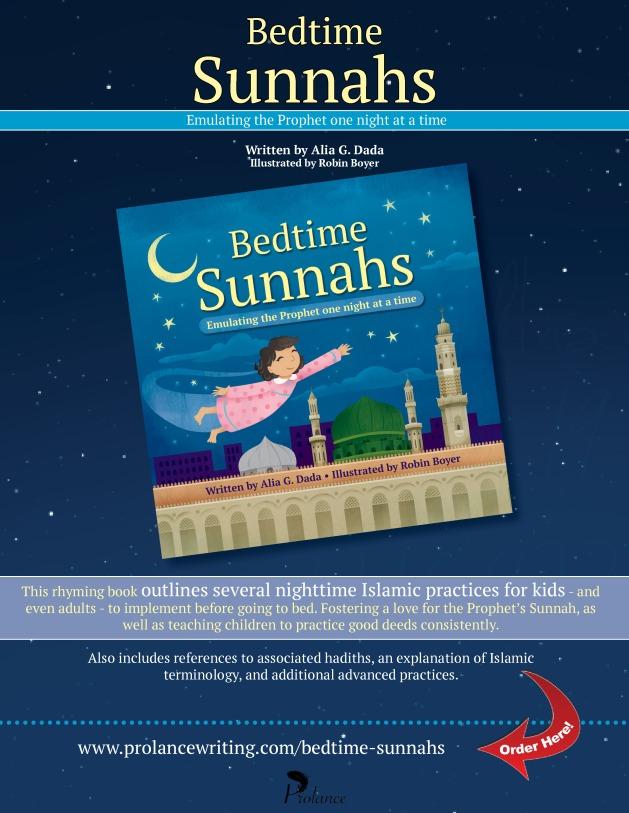 Bedtime Sunnahs Launch Poster