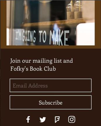 Fofkys book club