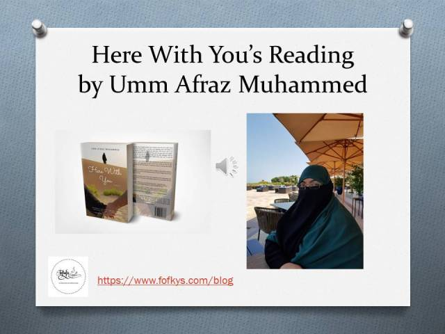 Here With You 's Reading by Umm Afraz Muhammad 4 17 19 pic