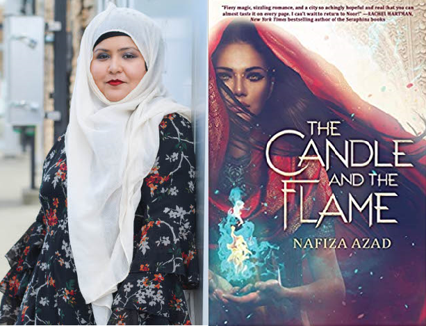 Nafiza the candle and the flame