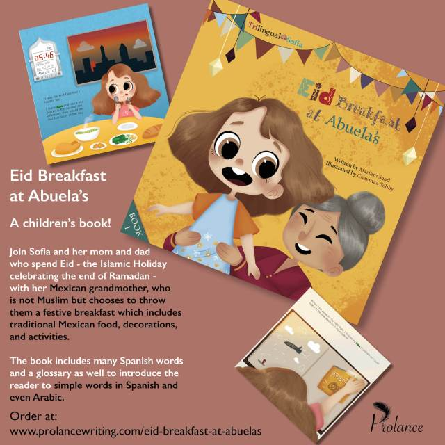Eid Abuelas Launch Poster