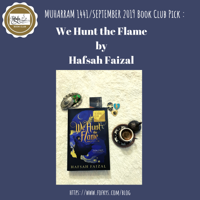 Book Club we hunt the flame