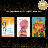 The nominees for best MG book