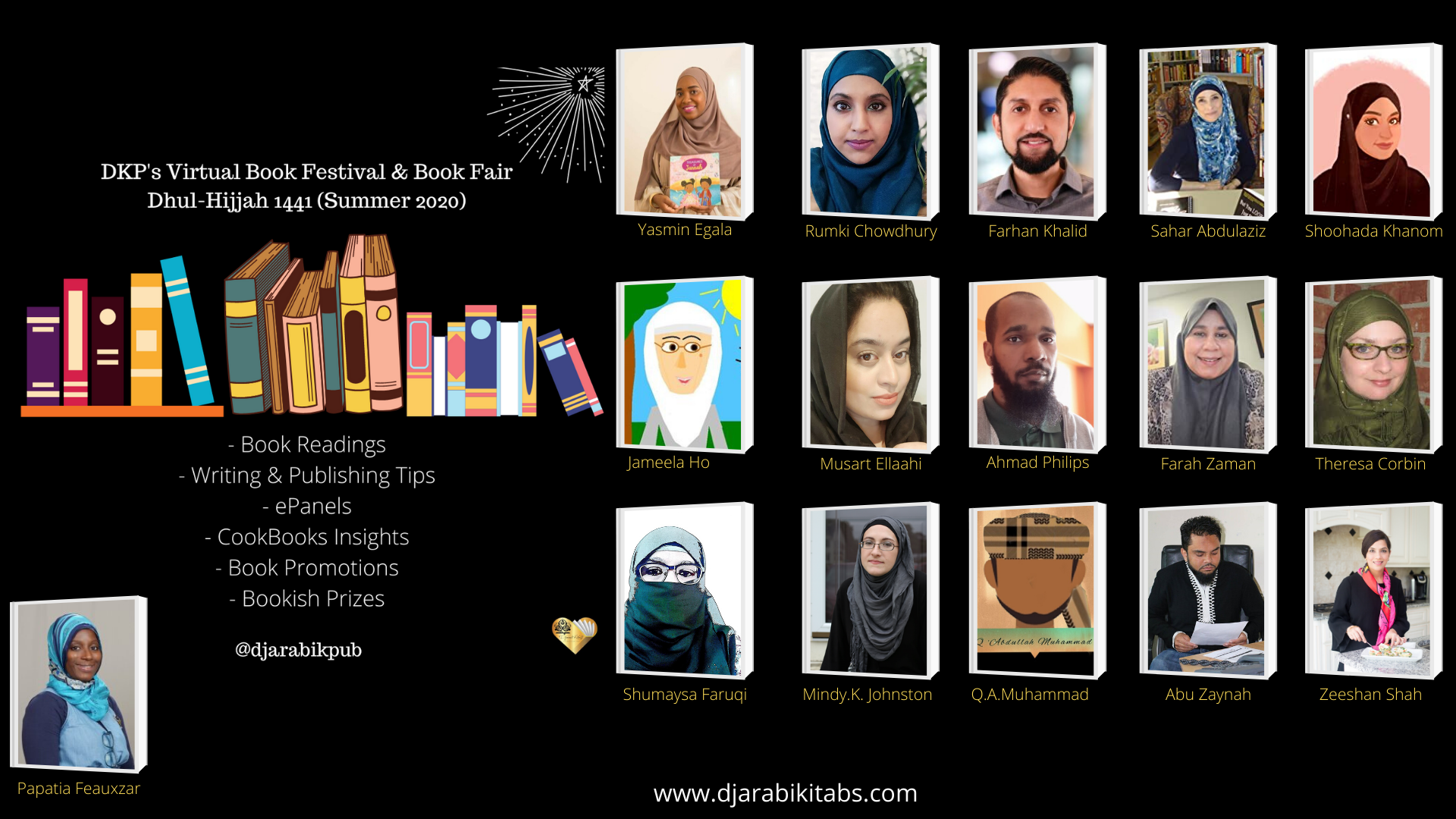 all the participants of the book fest 1