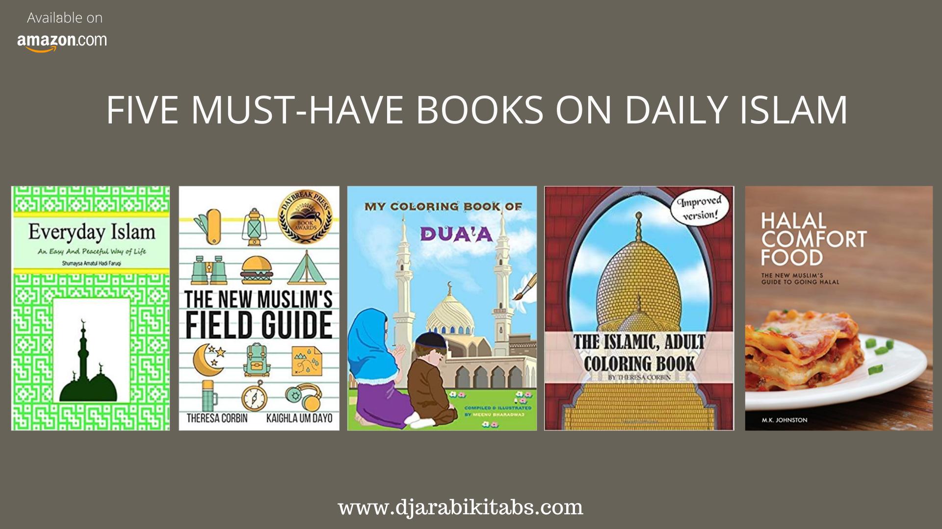 5+books+on+daily+Islam