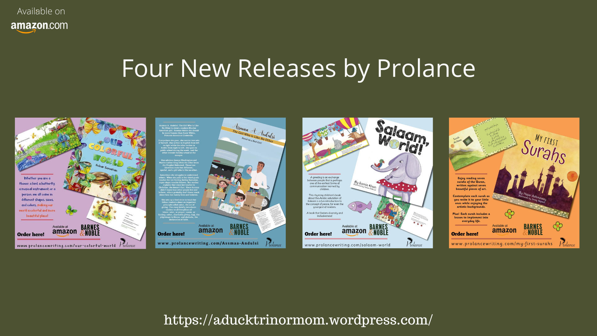 four new releases prolance
